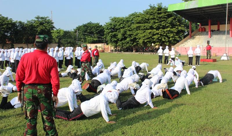 BKPP Kendal melaksanakan Pendidikan dan Pelatihan Kesamaptaan