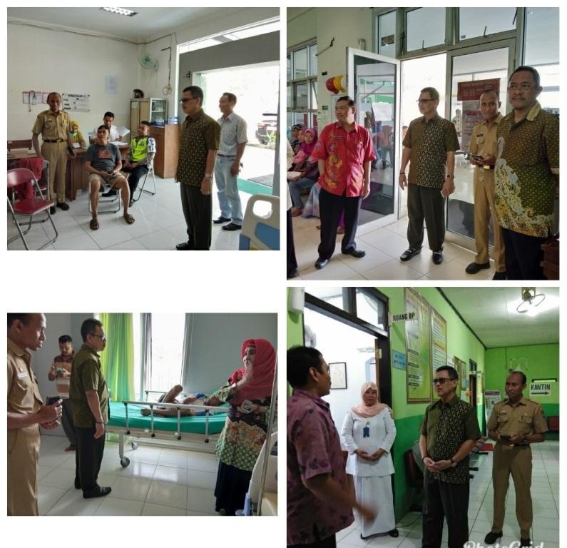 Monitoring Pelayanan Publik di RSUD dr. H. Soewondo dan UPTD Puskesmas