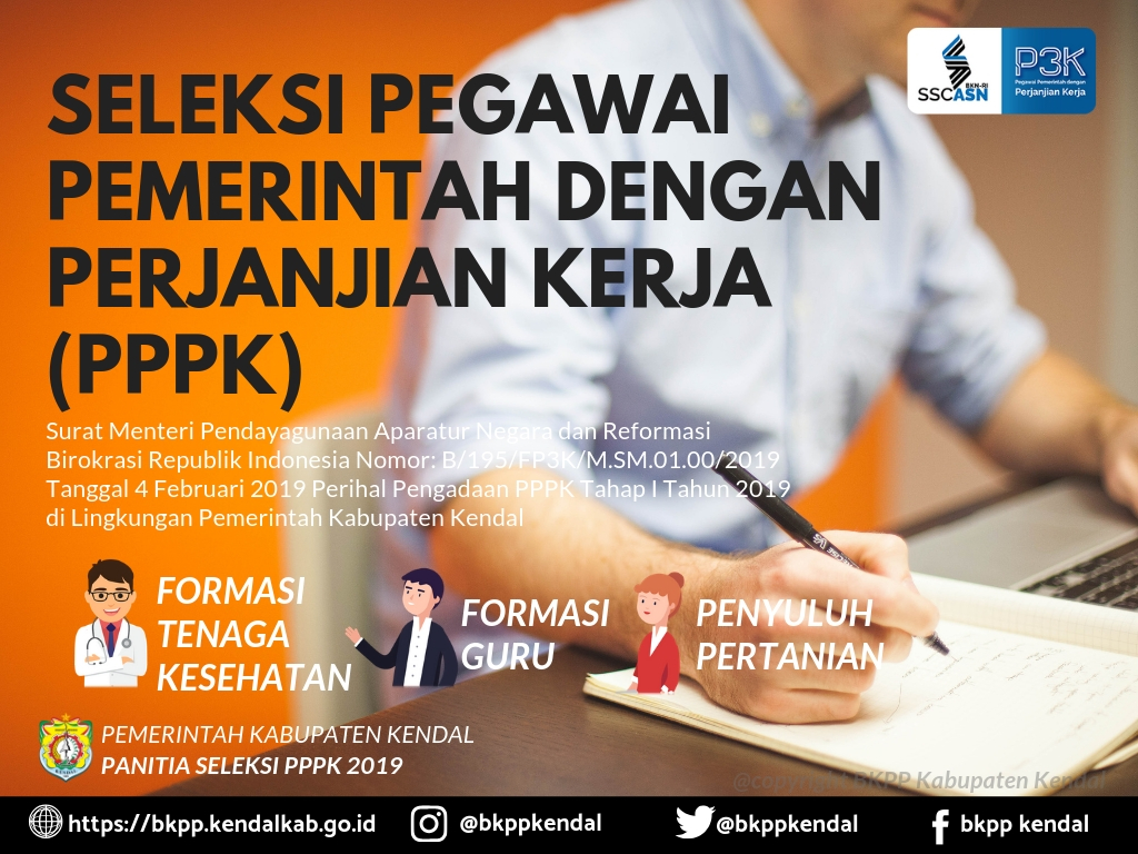 Jadwal Ujian CAT-UNBK PPPK Tahun 2019