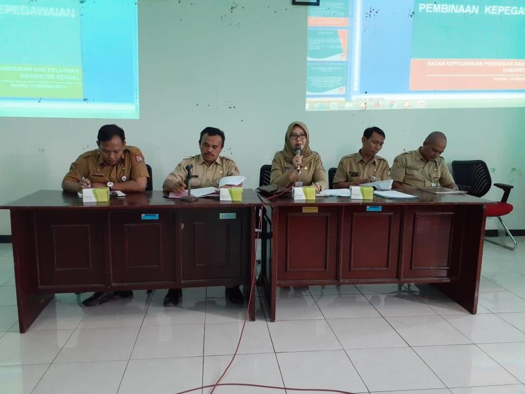 BKPP Melakukan Pembinaan Kepegawaian di OPD